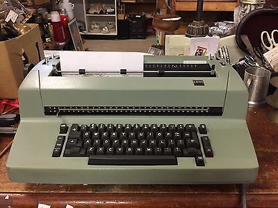 1980's IBM Electric Typewriter Model 82 Works w lots accessories