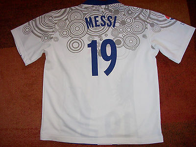 Pepsi Messi Promotional Football Shirt Large Camiseta Top Barcelona Argentina