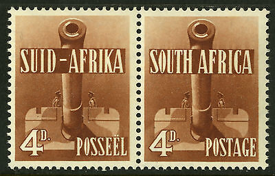 South Africa  1941-43  Scott # 86c  Mint Very Lightly Hinged