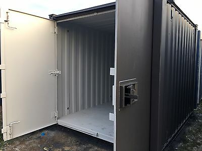 10ftx8ft  Anti Vandal secure store Storage Container
