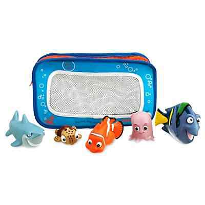 Disney Finding Nemo Bath Toys for Baby Includes Nemo Dory Squirt Bruce and Pearl