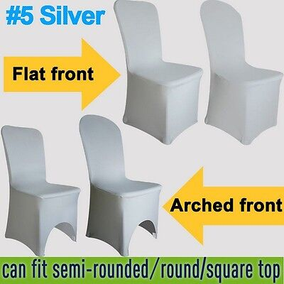 New Elasticated Spandex/Lycra Chair Covers Wedding Banquet Party Anniversary