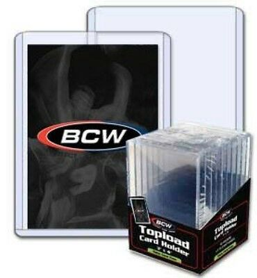 BCW 3x4 x 7mm - Thick Card Topload Holder 240pt - (10ct Pack)