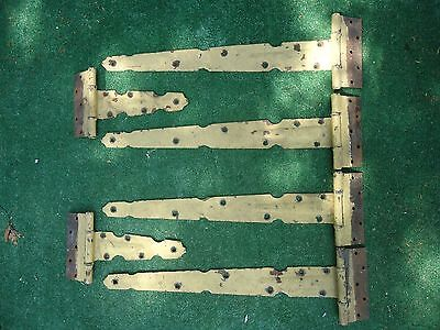 Antique Strap Hinges,heavy,wagon Hinges,gate Hinges,door Hinges,driveway Gates