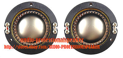 2PCS Replacement Diaphragm Fit For JBL 2425H, 2426H, 2427H, 2420H 8Ohm D8R2425