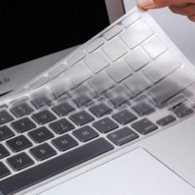 For MacBook Air 11 inch Clear Keyboard Cover Silicone Skin Europe Layout UK Vers