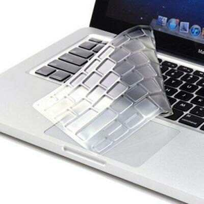 For MacBook Air 13 inch and MacBook Pro 13'' 15'' 17'' Clear Keyboard Cover Sili