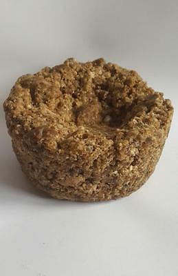 Organic Raw 100% Pure Natural African Black Soap From Ghana 500g (UK Stock)
