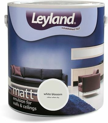 Leyland Matt Emulsion Paint For Walls & Ceilings 2.5L Black