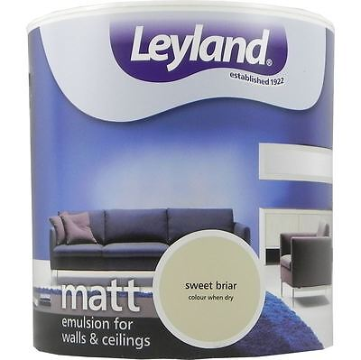 Leyland Matt Emulsion Paint For Walls & Ceilings Paint 2.5L Sweet Briar