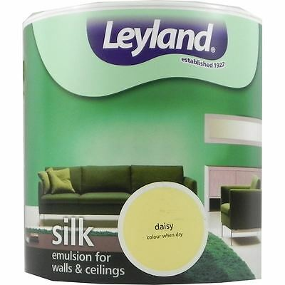 Leyland Silk Emulsion Paint For Walls & Ceilings 2.5L Daisy