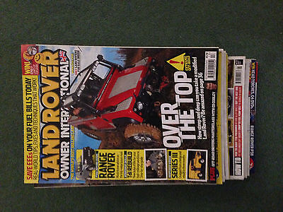 12 No landrover magazines ideal way to understand Landrovers