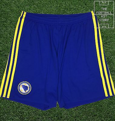 Bosnia & Herzegovina Home Football Shorts - Official adidas Rare Shorts - Mens