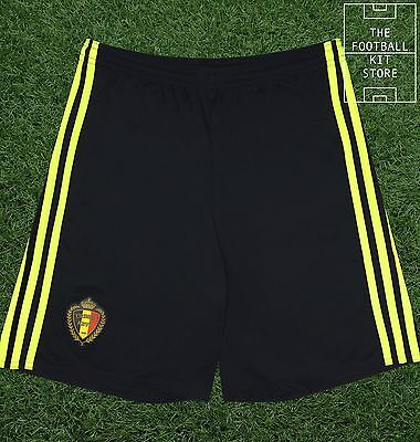 Belgium Home Football Shorts - Official adidas Mens Football Shorts - All Sizes