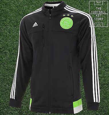 Ajax Anthem Jacket -  Official adidas Mens Training Wear - All Sizes