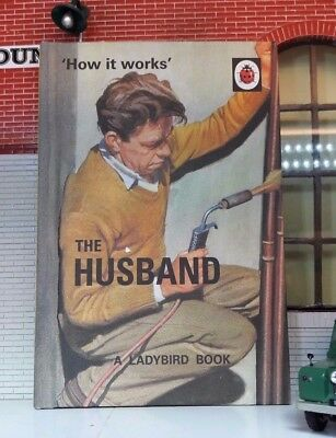 Land Rover Series Classic Car Manual Humour Comedy Book Ladybird The Husband
