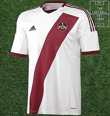 Nurnberg Away Shirt -  Official adidas Rare Football Shirt - Mens - All Sizes