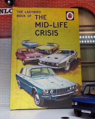 Land Rover Series Classic Car Manual Humour Comedy Book Ladybird Mid-Life Crisis