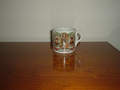 Rare Grimwades-Winton China Mug Commemorating Great War