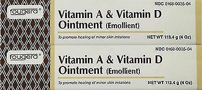 Fougera Vitamin A & D Ointment 4oz Tube ( 2 pack )