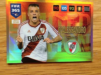 Fifa365 2017 D'Alessandro Limited Edition Card Adrenalyn XL