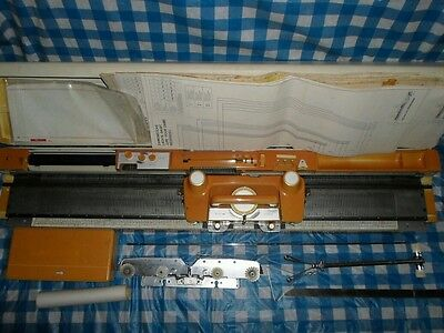 Vintage Empire Knitmaster Automatic Model 326 Punchcard Knitting Machine.