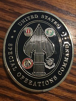 U.S. Special Forces SOCOM JSOC SEAL Chief Petty Officer Coin