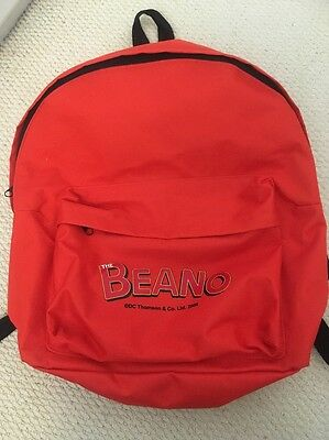 """The Beano Comic Large Backpack 15"""" By 15"""""""