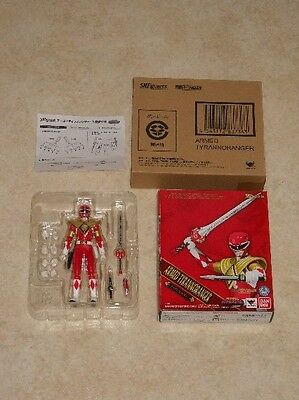 S.H. Figuarts Red Power Ranger Armed Tyrannoranger roter MMPR