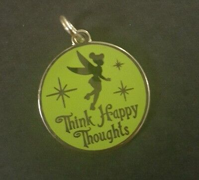 ALEX AND ANI: Tinker Bell Think Happy Thoughts CHARM Silver