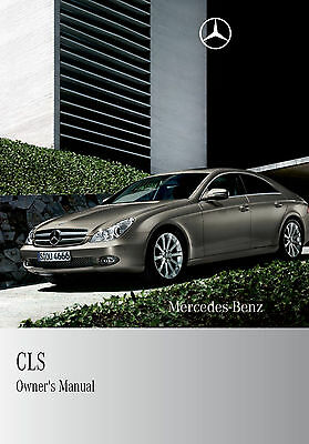 BRAND NEW - Mercedes CLS Owners Manual Handbook 2004 - 2010