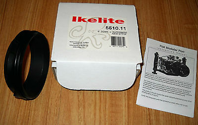 """Ikelite Modular Port Extension for 8"""" Dome Port  Part #5510.11"""