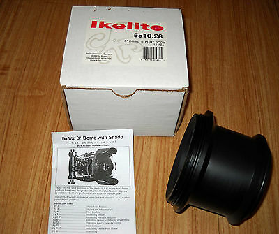 """Ikelite Modular Port Extension for 8"""" Dome Port  Part #5510.28"""