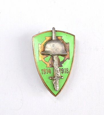 Austria, Hungary, ww1 Frontline Fighter miniature badge