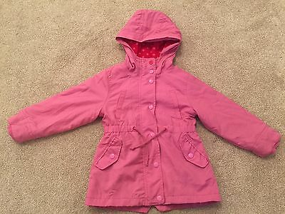 Next Girls Pink Winter Coat Age 3 to 4 years