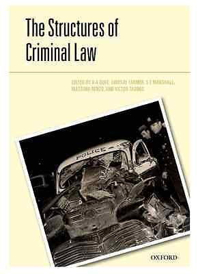 The Structures of the Criminal Law (UK Seller!!!!)