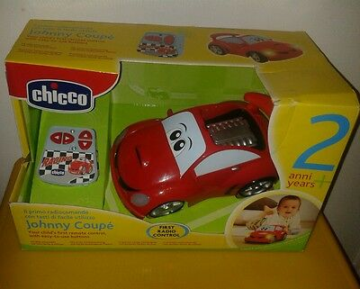 Chicco Johnny Coupe Radio Control Kids Toy Car + Free Christmas Gift Wrap On £15