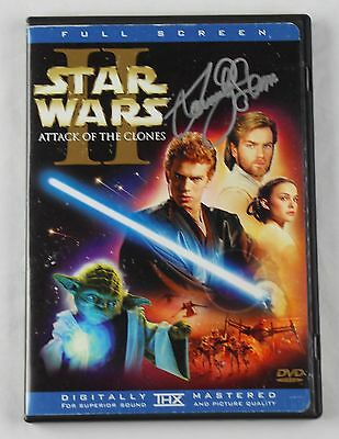 Samuel L. Jackson Star Wars Epsiode II Signed Authentic Autograph DVD Cover COA