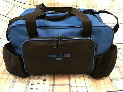 "HBO Series: THE WIRE ""FILM CREW"" DUFFEL BAG NEW, NEVER USED"
