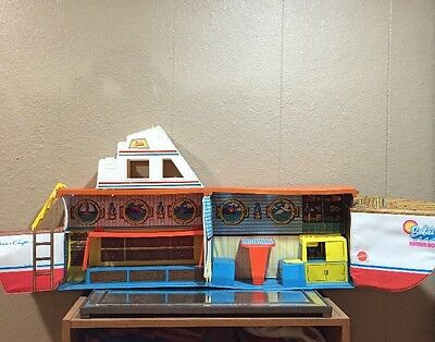 Vitg Barbie Dream Boat Play Set From 1974