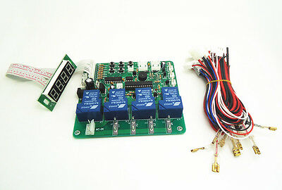 JY-21 multi function 4 digits coin operated timer board for 1-4 devices machines
