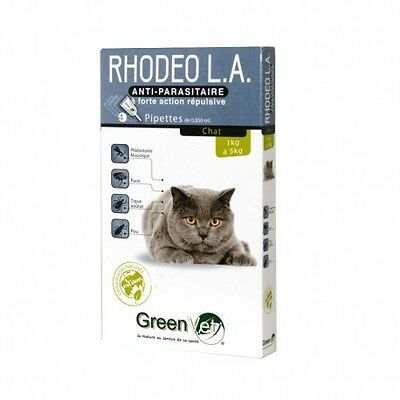 Rhodeo L.A. - Pipettes antiparasitaires pour chat