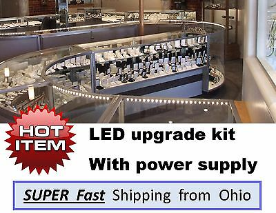 showcase & display case LED upgrade light KITS - complete with transformer
