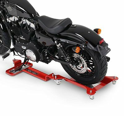 Motorcycle Dolly ConStands M2 red Moving Jack maneuvering aid trolley