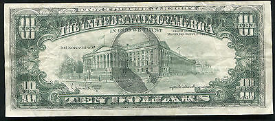 "1981-A $10 Federal Reserve Note "" Full Face To Back Offset Printing Error"""