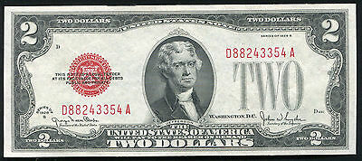 Fr. 1508 1928-G $2 Two Dollars Usn United States Note Gem Uncirculated