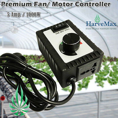 Quality Fan Speed Controller Inline Duct Fan Motor Drill Air Flow Noise Adjust
