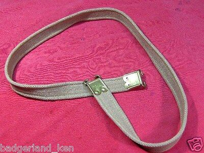 1913 Dated Khaki Cotton Web Sling For  British Lee Enfield Smle Rifle