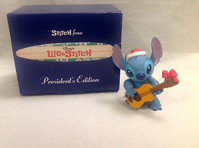 STITCH Disney President Edition CHRISTMAS Ornament MINT RETIRED!