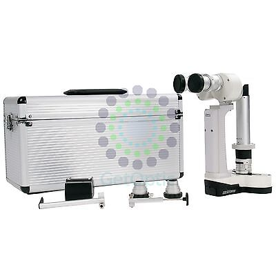 New Portable Hand Held Slit Lamp 3500 with Case CE Approval Battery